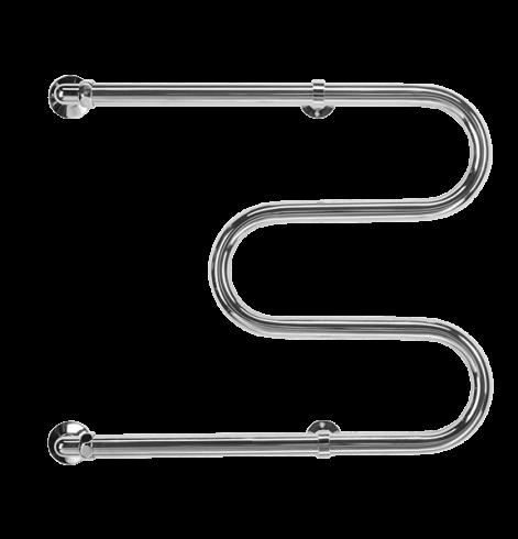 Terminus М-образной формы 500х500 (бесшовная труба) Водяной полотенцесушитель