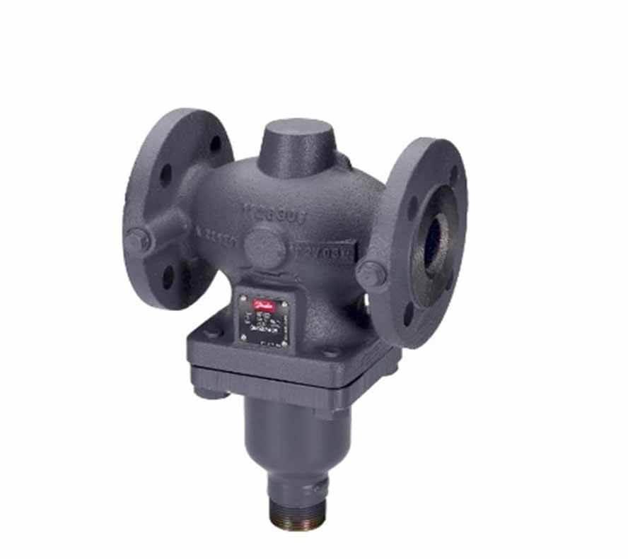 Регулятор перепуска, с клапаном VFG 2, kvs 4,0 м3/ч